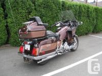 A Luxury Touring Motorcycle 1400 cc V4, Shaft