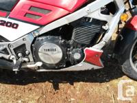 1986 yamaha fj1200 for sale ,in good condition,and was for sale  Prince Edward Island