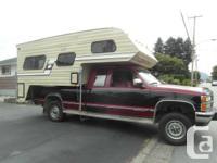 1987 9.5 Slumber Queen Camper for sale 2nd owner.