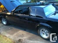 1987 buick grand national clone, vin says its a 1981
