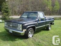 Make Chevrolet Model C/K 1500 Year 1987 Colour blue