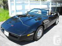 If you have been awaiting the garage kept Corvette to