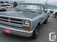 Make Dodge Model Ram 1500 Year 1987 Trans Automatic