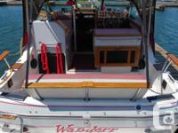 I have for sale my 1987 24ft Doral Cavalier. The boat