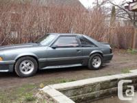 1987 Ford Horse GT 5.0 5 speed. LOW LOW 145,000 ORIG.