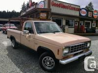 Make Ford Model Ranger Year 1987 Colour Brown kms