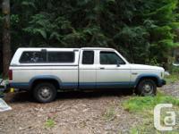 Make Ford Model Ranger Year 1987 Colour White & Blue