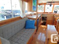 JUST REDUCED! Tidy simple coastal trawler. This boat