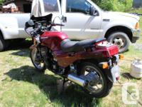 1987 Concours 1000. Shaft drive Reported to attain