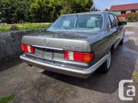 Make Mercedes-Benz Model 420 Year 1987 Colour Grey kms