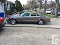 Make Mercedes-Benz Model 500SEL Year 1987 Colour Brown