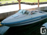 1987 Sea Ray 19 ft.; 135 hp Mercruiser I-O, White with