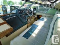 1987 SeaRay 270 Sundancer Sport Cruiser Description: