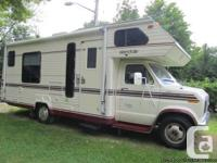 I have a motor home for sale in excellent working