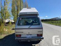 1987 VW Vanagon Westfalia - 341,950 km (35,000 on