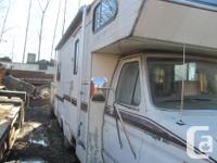 1988 Econoline 350 Motorhome for parts, refrigerator,