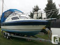 For sale 1988 Champion 250 Haida S/B with a 350 Chev &