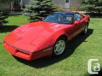 I am marketing my spouse's Corvette ... for her. The
