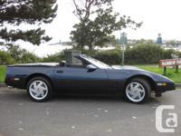 Make Chevrolet Model Corvette Year 1988 Colour BLUE