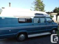Fully camperised van, bed up top ((suits a dual