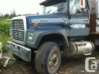 350 cummins motor, 13 speed nice working truck no MBI