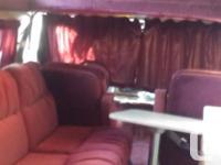 88 campervan. Runs on gas or propane. 351 engine. 341