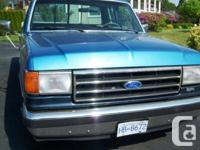 Make Ford Model F-150 Year 1988 Colour Blue kms 160000