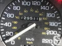 Make Honda Model Accord Year 1988 Colour Black kms