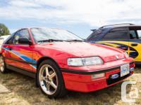 Make Honda Year 1988 Colour Red Trans Manual kms