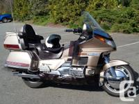 Make Honda Model Goldwing Year 1988 kms 174000 This