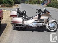 Make Honda Model Goldwing Year 1988 kms 166074 This
