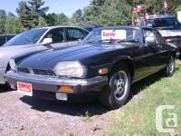 1988 Jaguar XJ-SC Convertible, 1 of 360 must see, A/C,