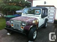 Jeep is running, but requires final assembly. Not air