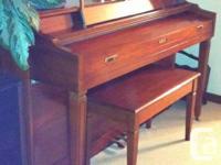1988 Baldwin Piano - $1500. An upright piano in