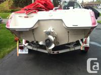I am selling my 1988 Sea Ray 19' boat with easy load