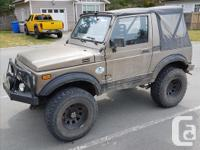 Make Suzuki Year 1988 Colour Brown Trans Manual kms