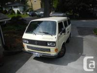 1988 Volkswagen Syncro Vanagon to Westfalia conversion