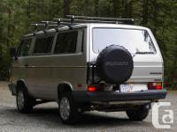 Make Volkswagen Model Vanagon Year 1988 Colour Silver
