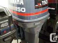 This is a 1989 Yamaha Pro V 150hp oil injected V6 with