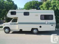 This motorhome is in good shape for the year and has