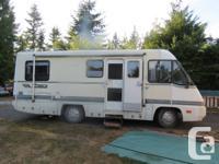 89 Itasca 25' 454 motor vehicle trans, air ride,