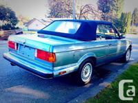 Make BMW Model 3 Series Year 1989 Colour BLUE kms