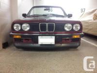 Make BMW Model 320i Year 1989 Colour Calypso Red