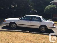 Make Buick Year 1989 Colour White Trans Automatic kms