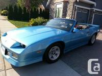 1989 Camaro  25 years old!!! Now a Classic! This 1989