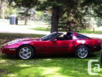 Make Chevrolet Model Corvette Year 1989 Colour maroon