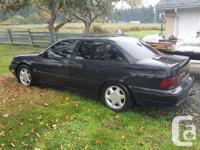 Make Ford Model Taurus Year 1989 Colour Flat Black kms