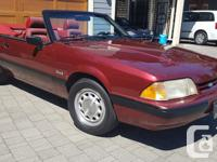 Make Ford Year 1989 Colour Red Trans Automatic kms