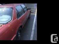 Make Honda Model Accord Colour Red Trans Automatic