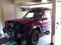 Available for sale 89 jeep cherokee Laredo XJ. Front